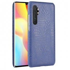 Funda Xiaomi Mi Note 10 Lite Cocodrilo Azul