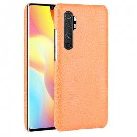 Funda Xiaomi Mi Note 10 Lite Cocodrilo Naranja