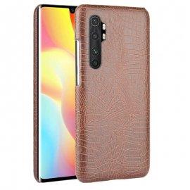 Funda Xiaomi Mi Note 10 Lite Cocodrilo Marron