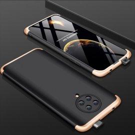 Funda 360 Xiaomi Pocophone F2 Pro Dorada y Negra