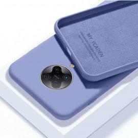 Carcasa Xiaomi Pocophone F2 Pro silicona suave Azul