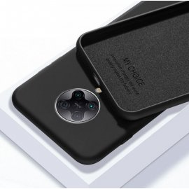 Carcasa Xiaomi Pocophone F2 Pro silicona suave Negra