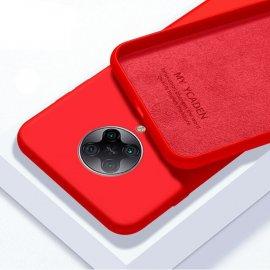 Carcasa Xiaomi Pocophone F2 Pro silicona suave Roja