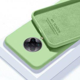 Carcasa Xiaomi Pocophone F2 Pro silicona suave Verde