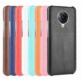 Carcasa Xiaomi Pocophone F2 Pro Cuero Estilo Cocodrilo