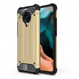 Funda Xiaomi Pocophone F2 Pro Armadura Dorada