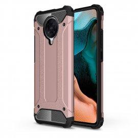 Funda Xiaomi Pocophone F2 Pro Armadura Oro Rosa