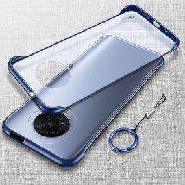 Funda Poco Pocophone F2 Pro Azul Esquinas Delgada