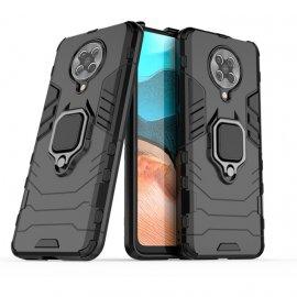 Funda Pocophone F2 Pro IShock Resistante con anilla Negra