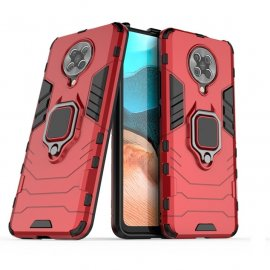 Funda Pocophone F2 Pro IShock Resistante con anilla Roja