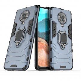 Funda Pocophone F2 Pro IShock Resistante con anilla Gris