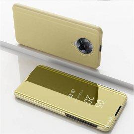 Funda Pocophone F2 Pro Xiaomi Libro Smart Dorada