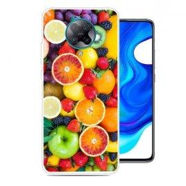 Funda Pocophone F2 Pro TPU Dibujo Frutas