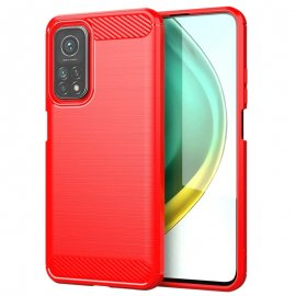 Funda Xiaomi Mi 10T y Mi 10T Pro Carbono 3D Roja