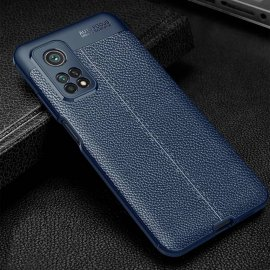 Funda Xiaomi Mi 10T y Mi 10T Pro TPU Cuero Azul
