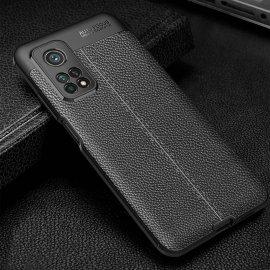 Funda Xiaomi Mi 10T y Mi 10T Pro TPU Cuero Negra