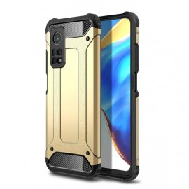 Funda Xiaomi Mi 10T y Mi 10T Pro Armadura Dorada