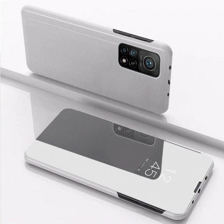 Funda Xiaomi Mi 10T y Mi 10T Pro Espejo Plateada