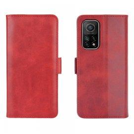 Funda Cartera Xiaomi Mi 10T y Mi 10T Pro Soporte Roja