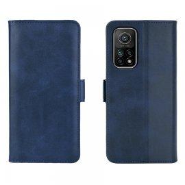 Funda Cartera Xiaomi Mi 10T y Mi 10T Pro Soporte Azul Marino