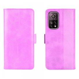 Funda Cartera Xiaomi Mi 10T y Mi 10T Pro Soporte Rosa