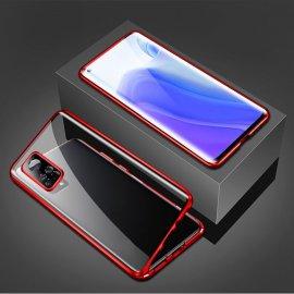 Funda Cubretodo Xiaomi Mi 10T y Mi 10T PRO Magnetica Roja