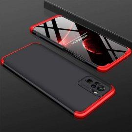 Funda Xiaomi Redmi Note 10 Bicolor NR 360 Negra y Roja