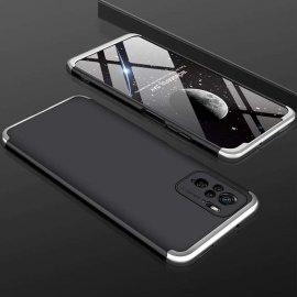 Funda Xiaomi Redmi Note 10 Bicolor NR 360 Negra y Gris