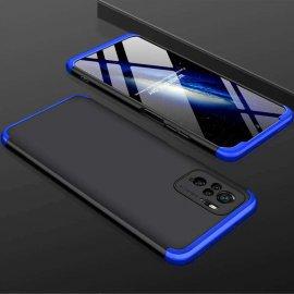 Funda Xiaomi Redmi Note 10 Bicolor NR 360 Negra y Azul