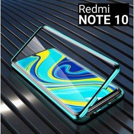Funda Cubretodo Xiaomi Redmi Note 10 Magnetica Verde