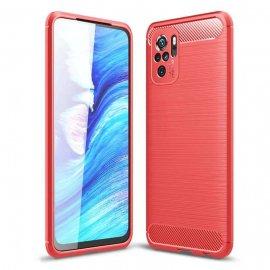 Funda Xiaomi Redmi Note 10 Carbono 3D Roja