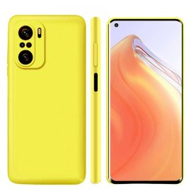 Carcasa Xiaomi Redmi Note 10 sedosa Amarilla