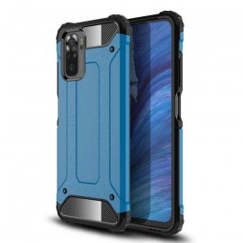 Funda Xiaomi Redmi Note 10 Hybrid Azul