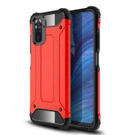 Funda Xiaomi Redmi Note 10 Hybrid Roja