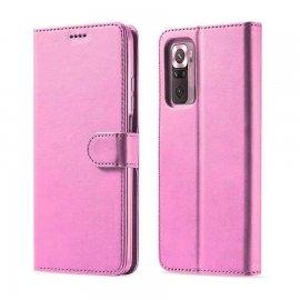 Funda Xiaomi Redmi Note 10 Cartera Rosa