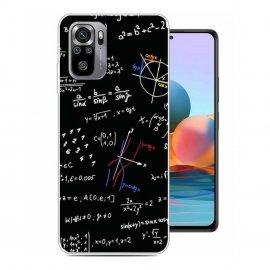Funda Gel Xiaomi Redmi Note 10 Matematicas