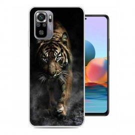 Funda Gel Xiaomi Redmi Note 10 Tigre