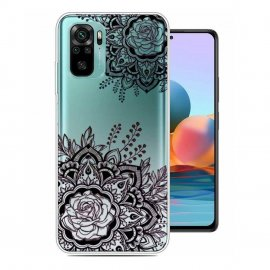 Funda Gel Xiaomi Redmi Note 10 Dentelles
