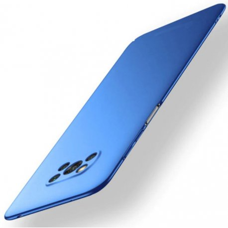 Carcasa Xiaomi Poco X3 Pro Ultra Delgada azul