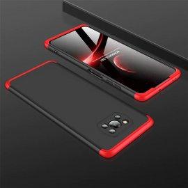 Carcasa Pocophone Poco X3 Pro 360 Negra y Roja GKK
