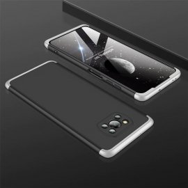 Carcasa Pocophone Poco X3 Pro 360 Negra y Gris GKK