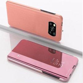 Estuche inteligente Pocophone Poco X3 Pro Smart Oro Rosa