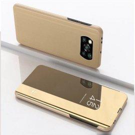 Estuche inteligente Pocophone Poco X3 Pro Smart Dorada