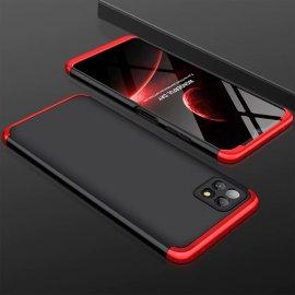 Carcasa 360 Samsung Galaxy A22 5G Negra y Roja