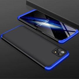 Carcasa 360 Samsung Galaxy A22 5G Negra y Azul