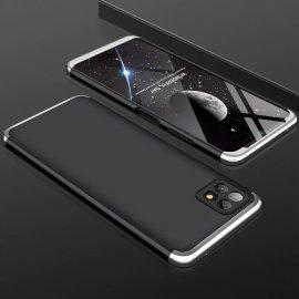 Carcasa 360 Samsung Galaxy A22 5G Negra y Gris