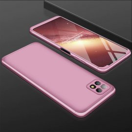Carcasa 360 Samsung Galaxy A22 5G Rosa