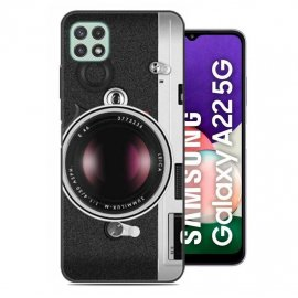 Carcasa flexible Samsung Galaxy A22 5G Camara