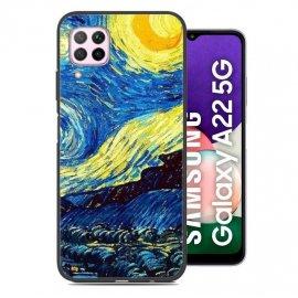 Carcasa flexible Samsung Galaxy A22 5G Arte