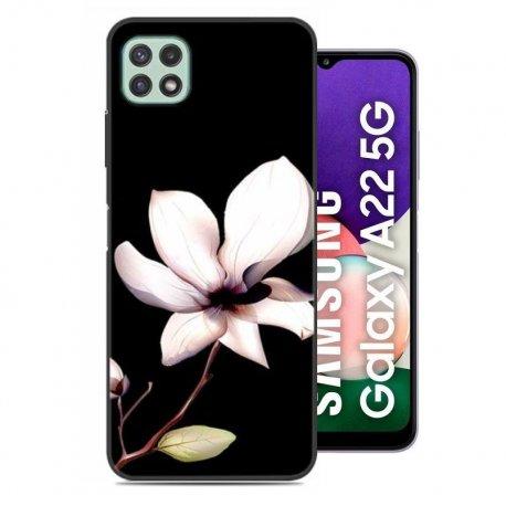 Carcasa flexible Samsung Galaxy A22 5G Flor